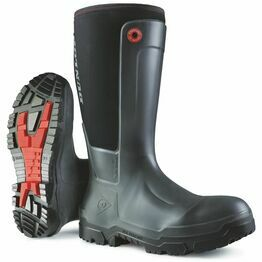 Dunlop Snugboot Workpro Full Safety Wellington Boot (Black)
