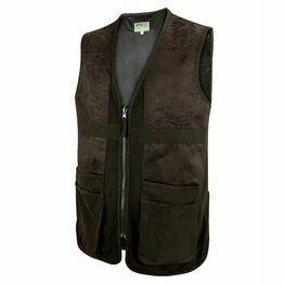 Hoggs Struther Waterproof Shooting Vest - Dark Green