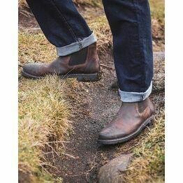Hoggs Banff Leather Dealer Boot - Walnut