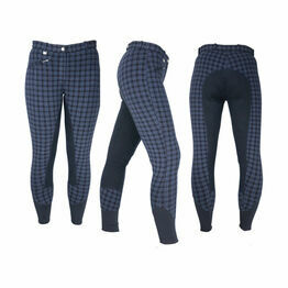 HyPERFORMANCE Harby Ladies Breeches - Navy Check