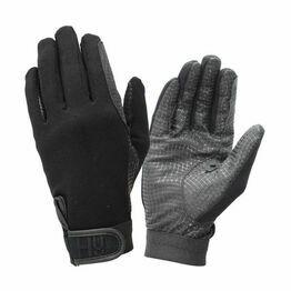 Hy5 Ultra Grip Riding Gloves - Black