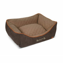 Scruffs Thermal Box Bed - Brown