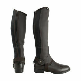 HyLAND Children's Synthetic Combi Leather Chaps - Brown