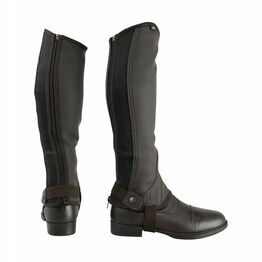 HyLAND Synthetic Combi Leather Chaps - Brown