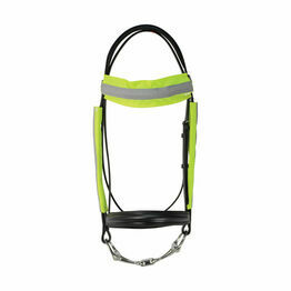 HyVIZ Reflector Bridle Bands - Yellow