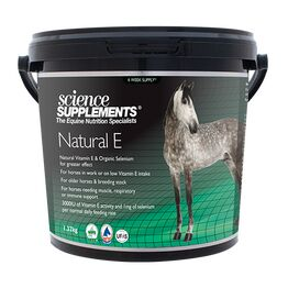 Science Supplements Natural E - 1.32kg