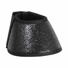 HyIMPACT Glitter Over Reach Boots - Black Glitter