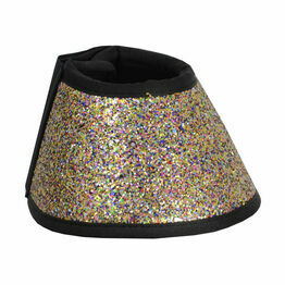HyIMPACT Glitter Over Reach Boots - Rainbow Glitter