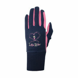 Riding Star Children's Winter Gloves - Rapture Rose/Navy
