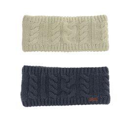 HyFASHION Meribel Cable Knit Headband - 24 x 10cm