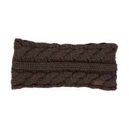 HyFASHION Valmorel Knitted Headband - Chocolate