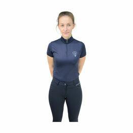 HyRIDER Signature Sports Shirt - Marine Blue/Teal