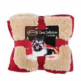 Scruffs Cosy Blanket - Burgundy Red - One Size