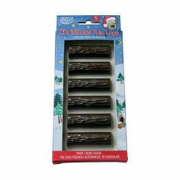 Dog Carob Yule Logs - 6 pack