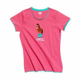 LazyOne Womens Booty Sleep PJ T Shirt