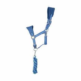 Hy Zeddy Fleece Head Collar and Lead Rope