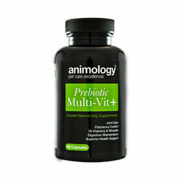 Animology Prebiotic Multivit+ Supplement - 60 Capsules