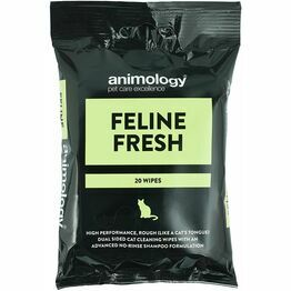 Animology Feline Fresh Cat Wipes - 20 Wipes