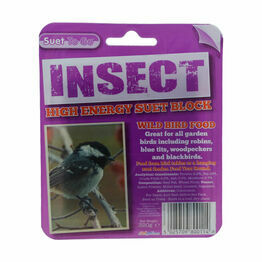 Suet To Go Suet Block in Tray - Insect - 320g