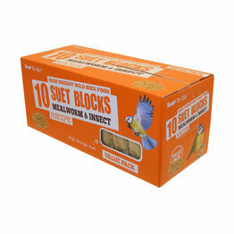 Suet To Go Suet Value Pack - Mealworm & Insect - 10 Pack