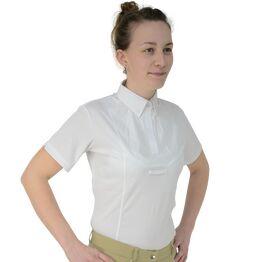 HyFASHION Ladies Tilbury Short Sleeved Tie Shirt - Yellow
