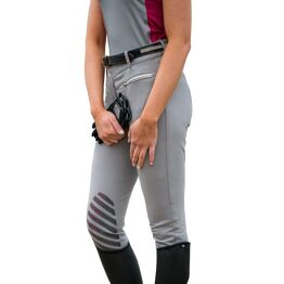 HyFASHION Mizs Arabella Breeches - Pink/Dolphin Grey