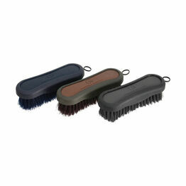 Coldstream Faux Leather Face Brush - 12.8 x 4.3cm