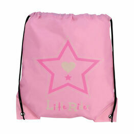 Riding Star Drawstring Bag by Little Rider - 33 x 43cm