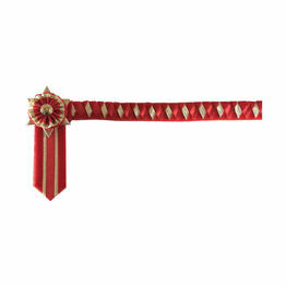 ShowQuest Boston Brow Band - Red/Red/Gold