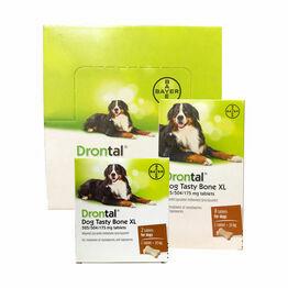 Drontal Dog Tasty Bone XL