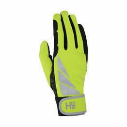 Hy5 Reflector Riding Gloves - Yellow
