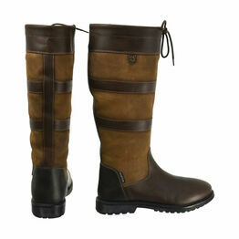 HyLAND Bakewell Long Country Boot - Light Brown
