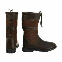 HyLAND Buxton Short Country Boots - Dark Brown