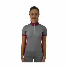 HyFASHION Arabella Sports Shirt - Pink/Dolphin