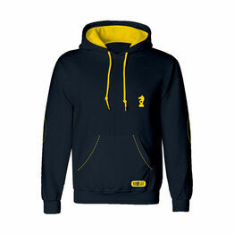 Lancelot Hoodie by Little Knight - Navy/Yellow