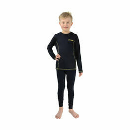 Lancelot Base Layer by Little Knight - Navy/Yellow