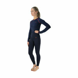 Hy Signature Base Layer - Navy/Red