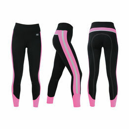 HyVIZ Reflector Ladies Breeches - Pink/Black
