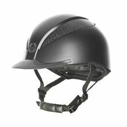 Champion Air-Tech Classic Riding Hat - Black Silk