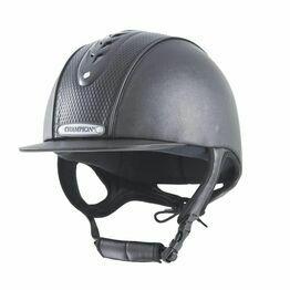 Champion Evolution Diamond Riding Hat - Black