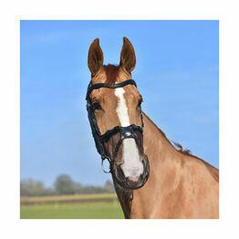 Net Relief Muzzle Net for Grackle - Black - Cob/Horse