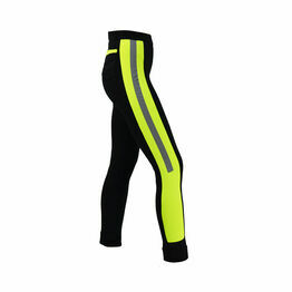 Reflector Ladies Jodhpurs by Hy Equestrian - Yellow/Black