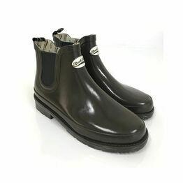 Rockfish Women's Urban Chelsea Boot Gloss - Dark Chocolate