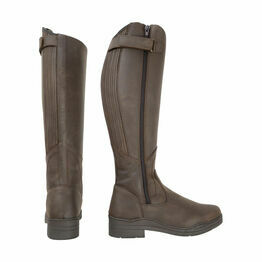 HyLAND Londonderry Winter Country Riding Boots - Dark Brown