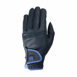 Hy5 Sport Active Riding Gloves - Navy/Regal Blue