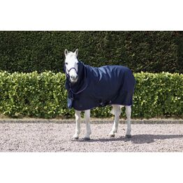 Hy Signature 200g Combi Turnout Rug - Navy/Red/Blue