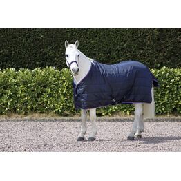 Hy Signature 250g Stable Rug - Navy/Red/Blue