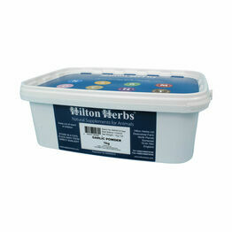 Hilton Herbs Garlic Powder Animal Supplement Tub - 3kg