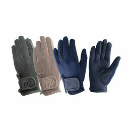Hy5 Children's Every Day Riding Gloves - Brown