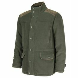 Hoggs Sportsman II Waterproof Fleece Shooting Jacket - Green